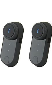 V0-1000 Bluetooth Interphone Handset voor Motorfiets / Ski Helmet Intercom (1000m / 2 stuks)