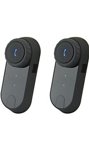V0-1000 Bluetooth Interphone Håndsæt for Motorcykel / Ski Helmet Intercom (1000m / 2PCS)