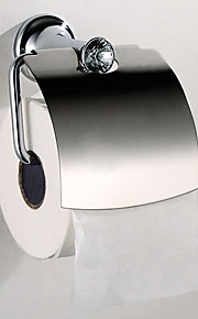 Stainless Steel Wall-mounted Toilet Paper Holder,6 inch x 6 inch