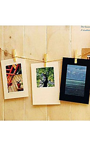 """3 """"x 3"""" enkel stil håndverket papir hengende bilderammen, sett med 10"""