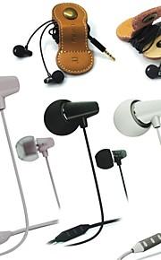 remax functionele keramische oortelefoon 3.5mm in-ear oortelefoons headsetmic&afstandsbediening voor ios iphone smartphone