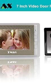 """tmax® 7 """"video deurtelefoon deurbel intercom systeem met 500tvl night vision camera"""