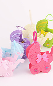 Baby Shower Car Shaped Favor Bags - Set of 12 (More Colors)
