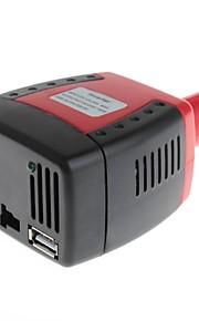 yuanbotong 150w 12v dc al inversor de alimentación de CA 220v con salida de 5v usb con ventilador de refrigeración