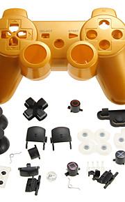 erstatning kontrolleren saken&tilbehør kit for ps3 controller gratis frakt