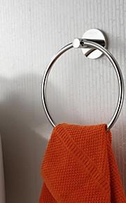 Finition en acier inoxydable poli brillant anneau de serviette