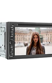 6.2 tommer 2 DIN universal bil dvd-afspiller med radio, dvd, SD, USB, Bluetooth, ipod