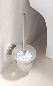 Stainless Steel Bright Polished Finish Toilet Brush Holder