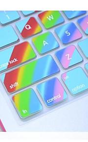 """coosbo® silicona colorida piel de la cubierta del teclado para 13.3 """", 15.4"""", 17 """"pro macbook air / retina (colores surtidos)"""