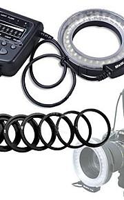 meike® geleid macro ringflitser fc-100 voor canon nikon pentax olympus dslr camera camcorder