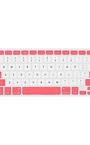 """doble color cubierta del teclado protector para 13.3 """"macbook air / pro / pro con pantalla retina (colores surtidos)"""