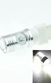 3156 P27W w2.5x16d Cree XP-e conduit 20w 1300-1600lm 6500-7500k ac / DC12V-24V tourner -silver blanc transparent à la lumière