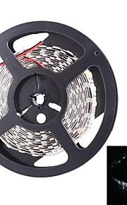 double rangée 600x5050 SMD 144W 6000lm lumière blanche LED Light Strip (5 mètres 12v / cc)