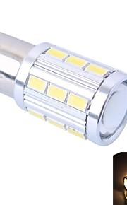 1156 / BA15 4W 220lm 21x5730 SMD warm wit / wit led (DC12-24V, 1st)