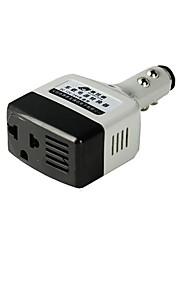 HST Universal Multifunctional Portable Car Power Adapter for Cell Phone  Light Grey  Black 12V 24V
