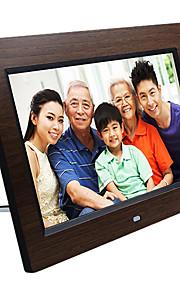 Marco de madera digital de 10.1 pulgadas foto HD con tarjeta de memoria 16g