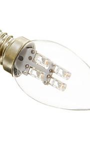 E12 0.5 W 3 15-20 LM Varm hvit/Kjølig hvit C Dekorativ Lysestakepære AC 220-240 V