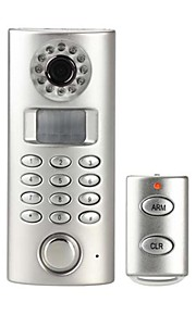 DIY PSTN auto-dial kamera hjem alarm med fjernbetjening