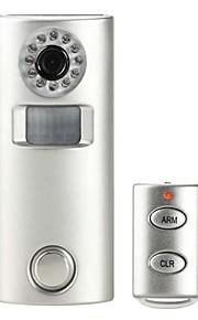 trådløs diy kameraoptagelse hjem alarm med fjernbetjening
