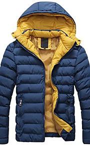 Men Detachable Cap High Quality Warm Coat