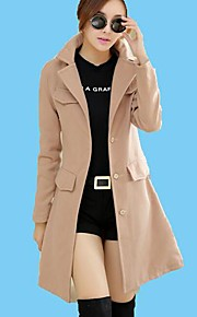 OZL®Women's Slim Woolen Trench Coat(More Colors)