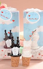 éperdument mariée&marié bouchons de bouteilles de mariage