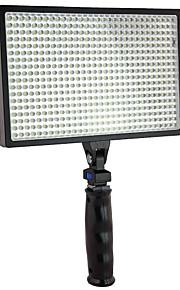EOSCN ES540A 540pcs LED videolys til Canon Nikon Video Camera DV Camcorder