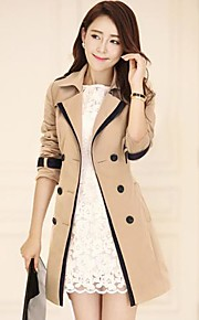 Women's Fashion Cotton Trench Coat