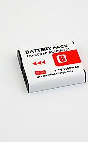Digital Video Batteri Udskift Sony NP-BG1 til Sony Cyber-shot W30, W35 og mere (3.6V, 1200 mAh)