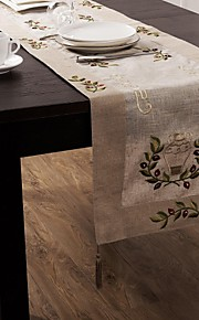 manteles bordados clásico mantel 40 * 180cm