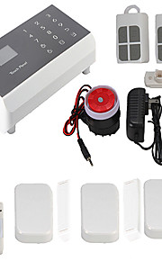 Kerui ios android app gsm trådløs tale- hjem alarm sikringssystem auto dialer