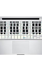 XSKN verslaan notities toetsenbord beschermfolie huid dekking voor macbook air / macbook pro / macbook pro retina