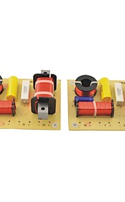 OL-3B 180W HiFi 3 Way Crossover Filters For 3 Speaker System Audio Frequency Divider (2PCS)