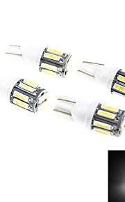 4pcs LED T10 7010 SMD 194 W5W Auto Keil Lichtseite Innenkennzeichenleuchte Glühlampe Innen