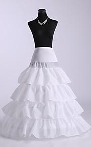 robe de bal glissement quatre niveaux jupons