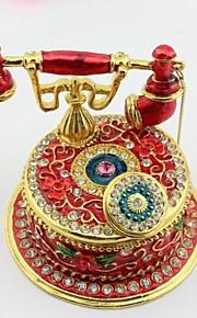 forme téléphonique boîte bijou de décoration