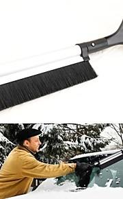 lebosh®scalable pala de nieve manejar mucho la nieve pala aleación de aluminio pala de nieve