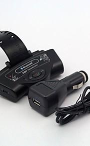 Car Wireless Steering Wheel Handsfree Bluetooth Mp3 Speaker Kit For Phone