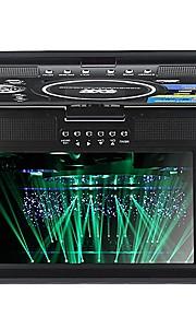 "9.5 ""bærbar EVD / DVD / VCD / CD / MP3 / mp4-afspiller med tv-tuner usb infrarød modtager"