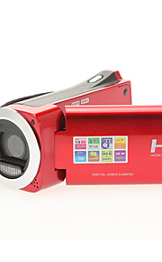 8 megapixels digitale videocamera 720p HD video 4x digitale zoom 2,7-inch LCD-scherm mini-camcorder hdv-882
