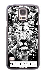 personlig telefon taske - løve design metal tilfældet for Samsung Galaxy s5 mini