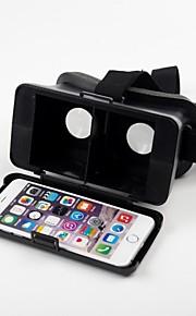 beboncool cabeza de cartón montar versión de realidad virtual de plástico gafas 3d de vídeo para el iphone 6 más