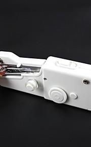 doméstico portátil mini-máquina de costura - branco (4 x AA)