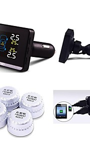 Careud Tpms ,Tyre Pressyre Monitoring System with 4 External Sensors,PSI/BAR,Car TPMS,Diagnostic Tools