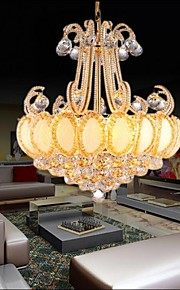 Lustre - Contemporain/Traditionnel/Classique/Vintage - avec Cristal/LED/Ampoule incluse - Métal