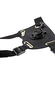 PANNOVO G-818B Elastic Adjustable Dog Pet Chest Shoulder Strap Mount for Gopro Hero 4 / 3 / 3+ / SJ4000