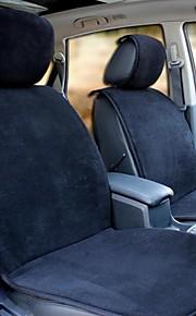 honorv ™ korte pluche auto kussen van toepassing op de vijf zitplaatsen (zwart)