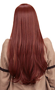 Angelaicos Women Makise Kurisu Steins Gate Wavy Long Dark Brown Natural Nightclub Halloween Costume Party Cosplay Wig