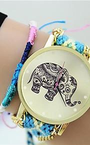 שעון צמיד - לנשים - בד - קווארץ