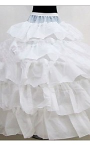 Déshabillés ( Polyester , Blanc ) - Robe de soirée longue - 5 - 100cm